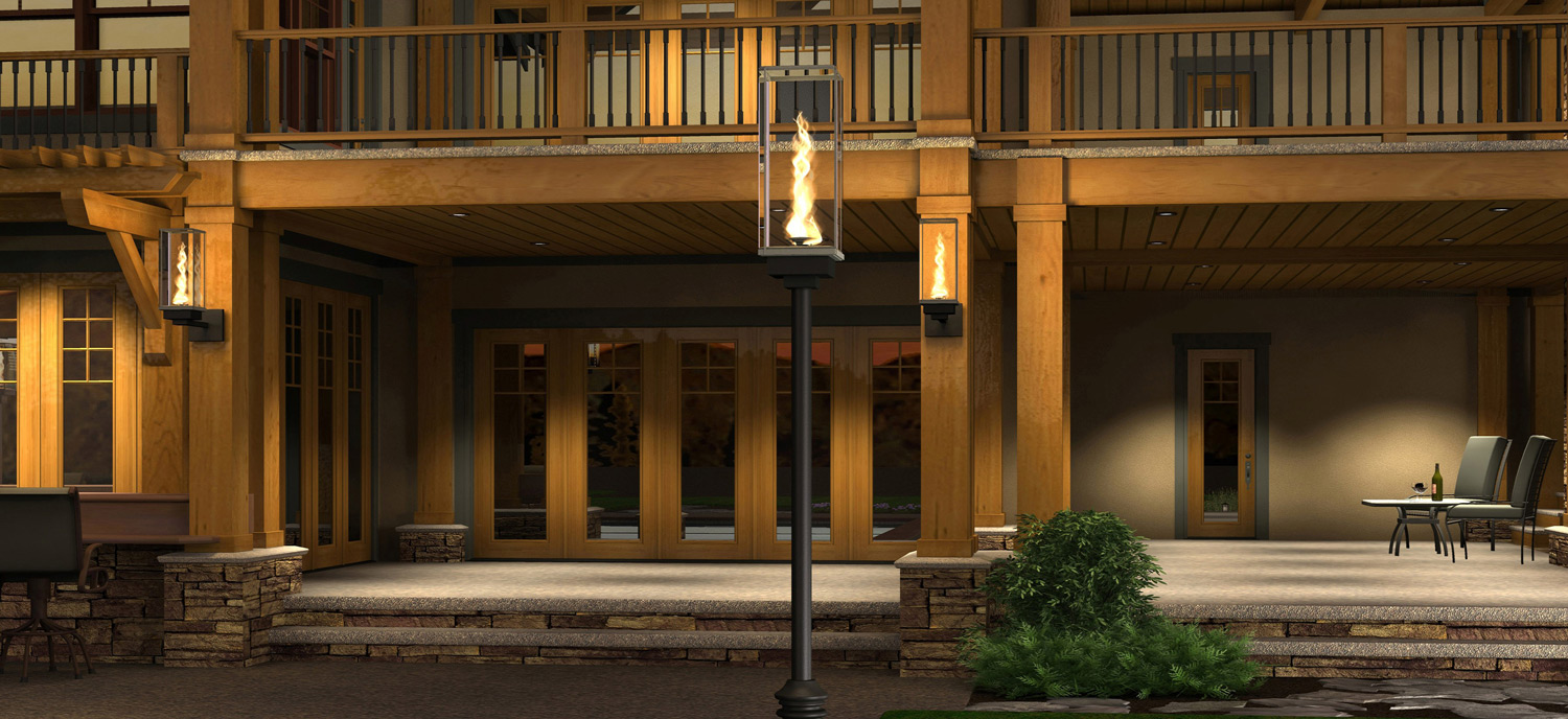 Tempest Torch Outdoor Gas Lamps And Lighting Wiring A Lamp Made In The Usa Mukilteo Wa Sold Across World