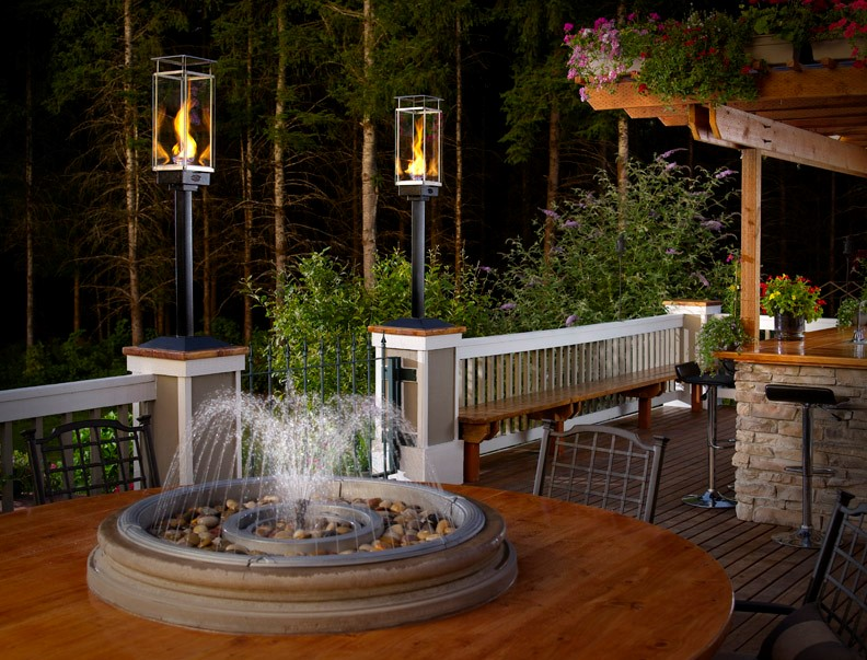 outdoor gas lamps and lighting tempest torch With outdoor propane lights for sale